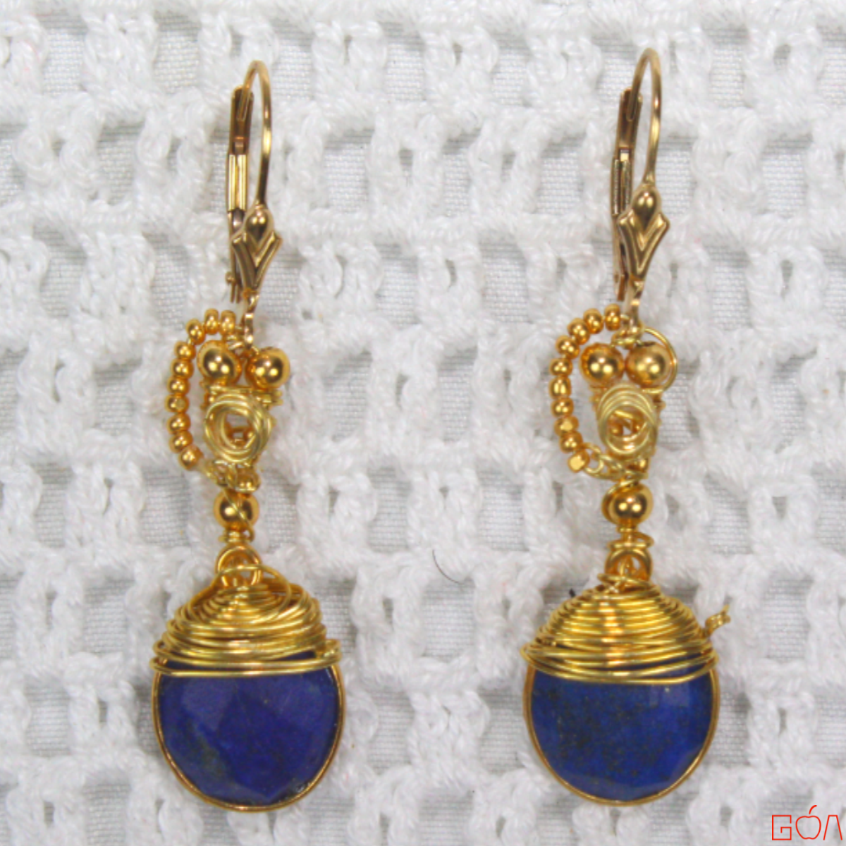 Boucles d'oreilles assorties au Collier Pharaon -1200x1200-RRG-